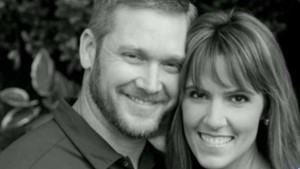 Taya Kyle, with her husband Chris.