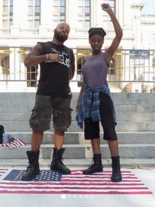 Black-Panther-on-Flag